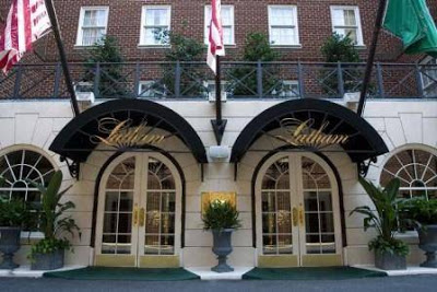 Sove og spise: The Latham Hotel og Citronelle Washington DC