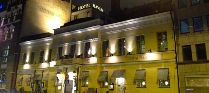 Sove: Himmelske Hotel Haven Helsinki