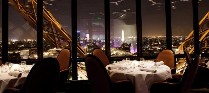 Spise og se: Le Jules Verne Eiffeltårnet