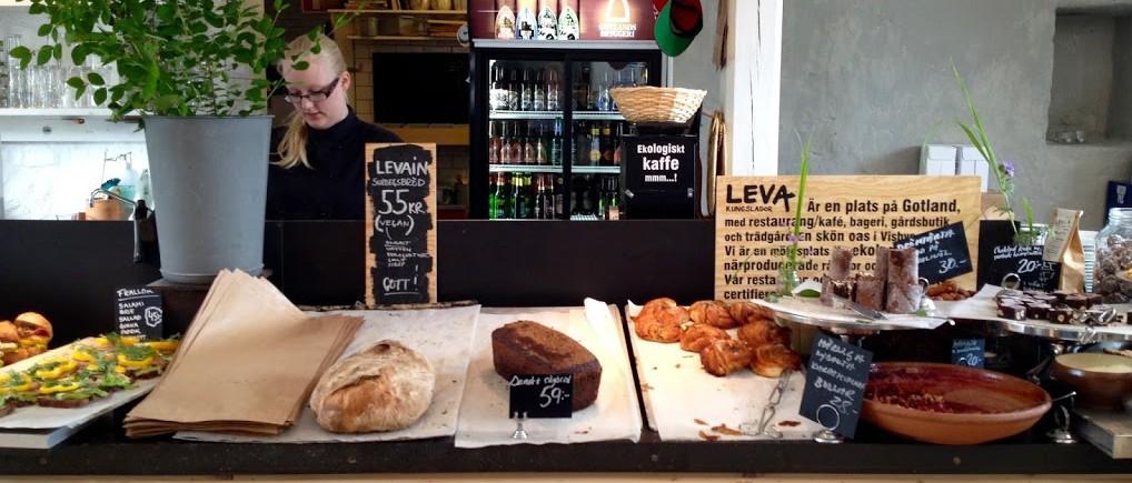 Spise og shopping: Leva Kungslador Visby
