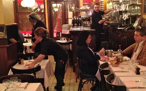 Spise: Italienske Le Cherche-Midi i Paris