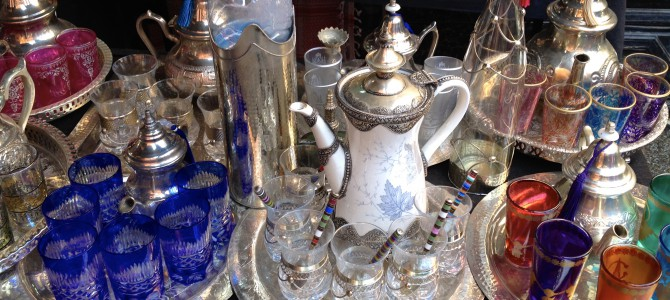 Shopping: Souk, butikk og flyplass i Marrakesh