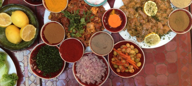 Spise: Matkurs i Marrakesh