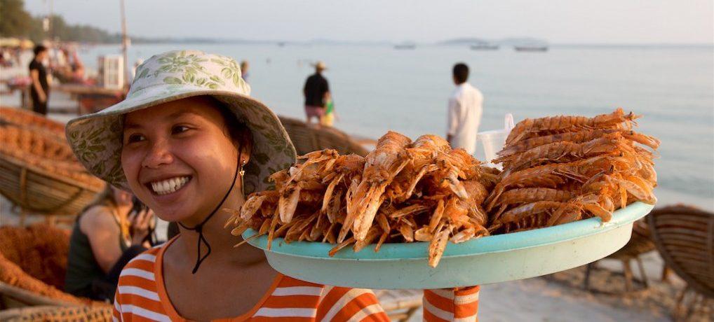 Strandliv: Sihanoukville i Kambodsja