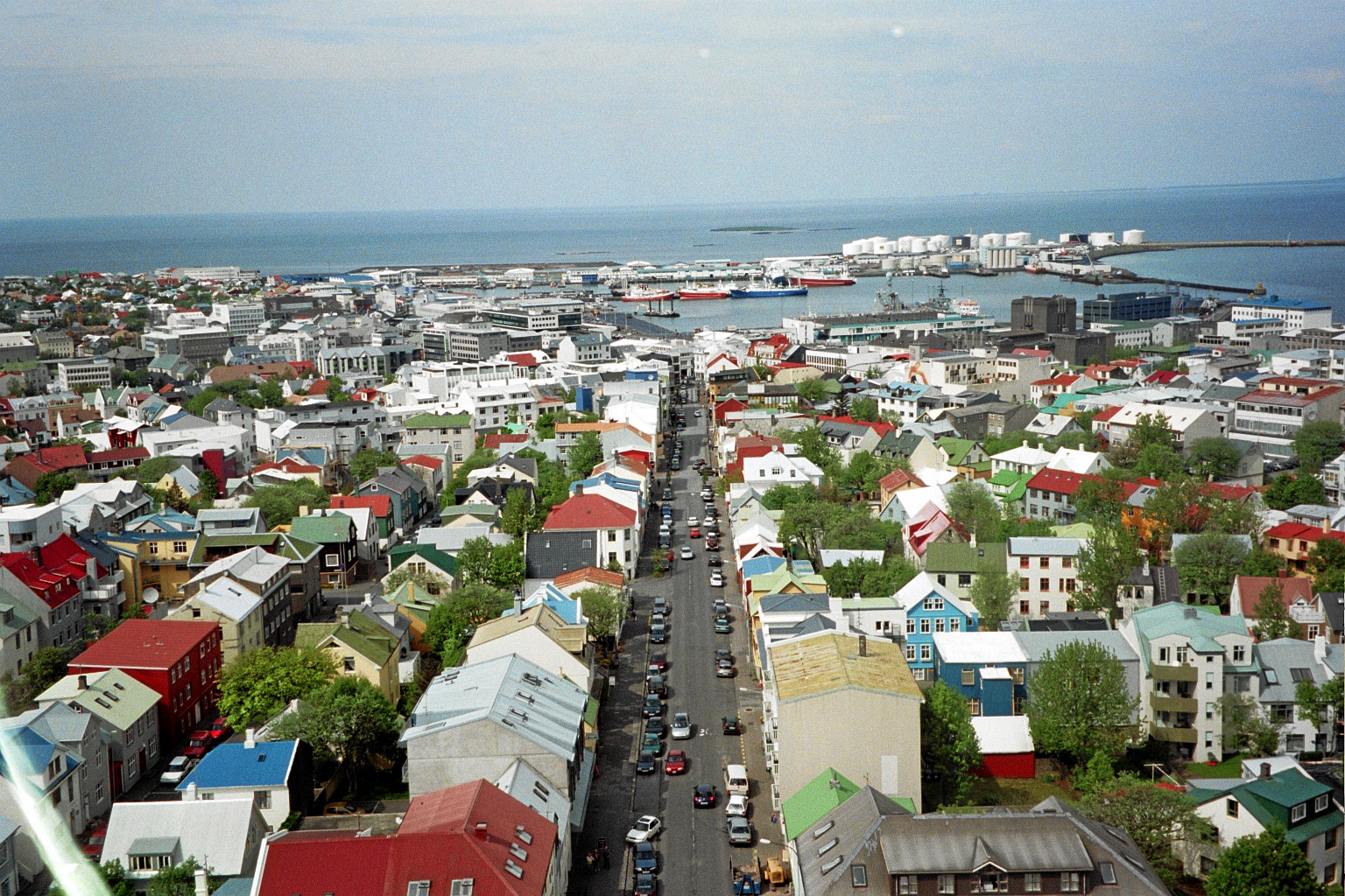 Hus i Reykjavikj