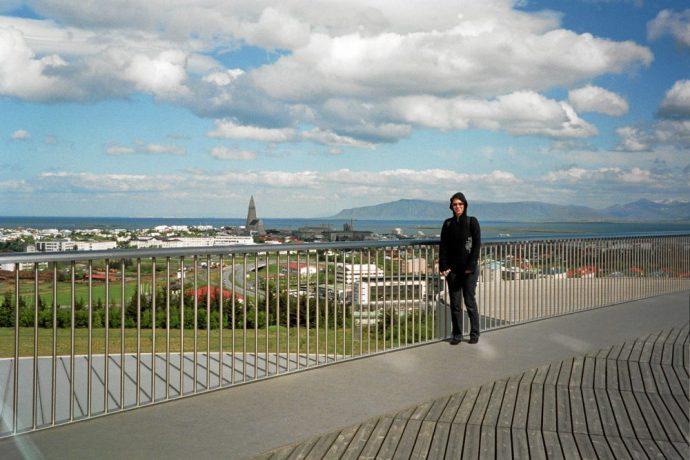 Utkikk over Reykjavik