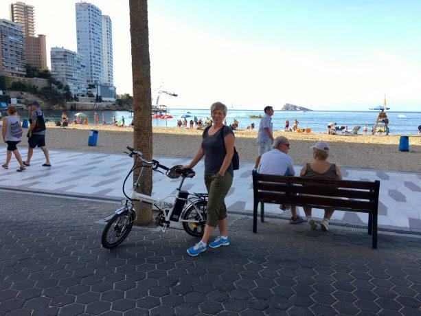 sykkelstart i Benidorm