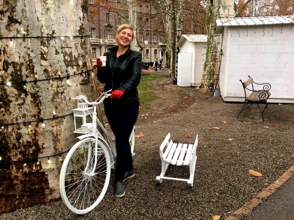 Ego med sykkel