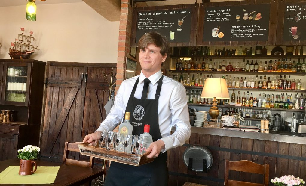 Uformelt, men solid matkunst på Gdanski Bowke
