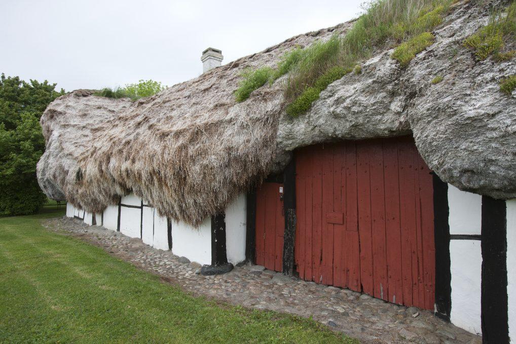 De spesielle tangtakene er også et varemerke på Læsø.