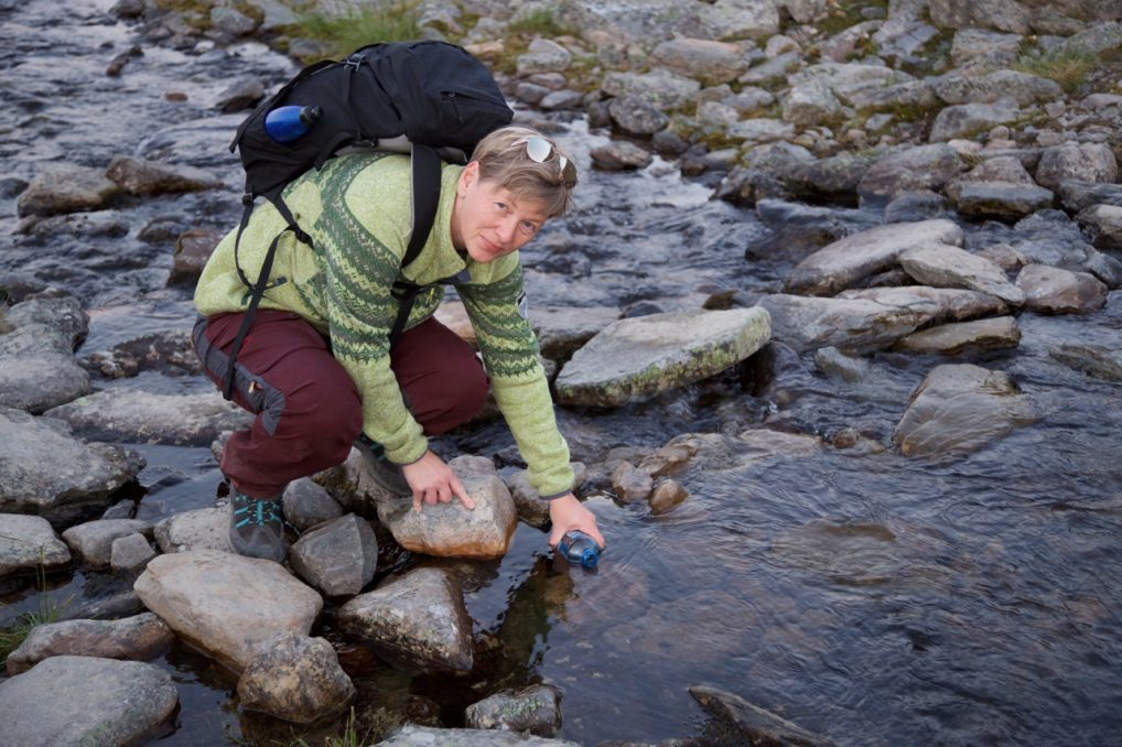 Herlig at norsk natur byr på friskt vann.