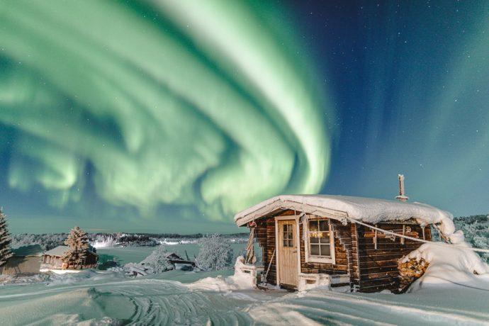 Ferietips 7 er svensk Lappland. Foto: Oh darling, let's be adventurers