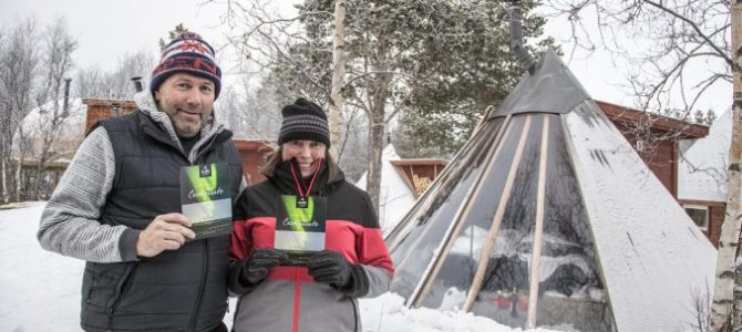 Se nordlys i Alta med proff guide