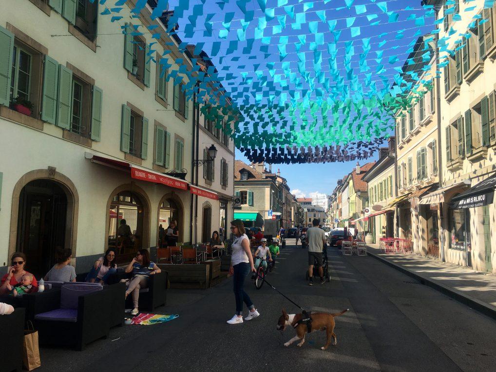 Vakre Carouge i Genève. Sett av en halv dag her.