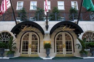 Sove og spise: The Latham Hotel og Citronelle Washington DC