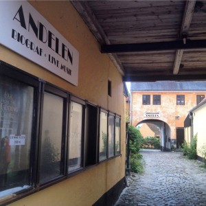 Andelen guesthouse har egen kino og jazzfestival