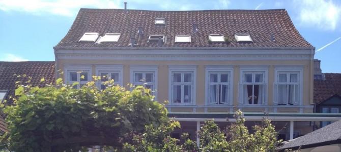 Sove: Det lille hotel Ærøskøbing