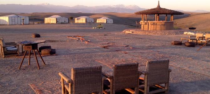 Glamping: Ørkentur i Marrakesh