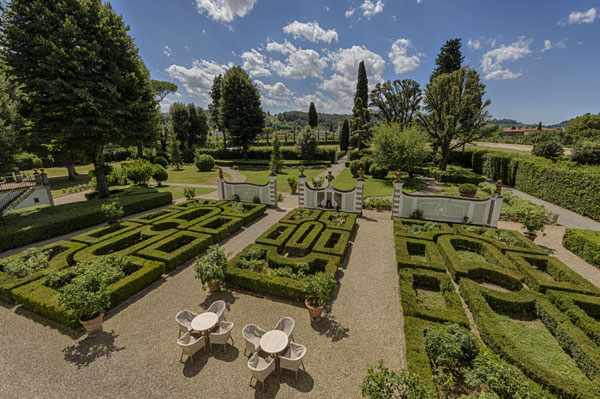 En hage som krever sin gartner