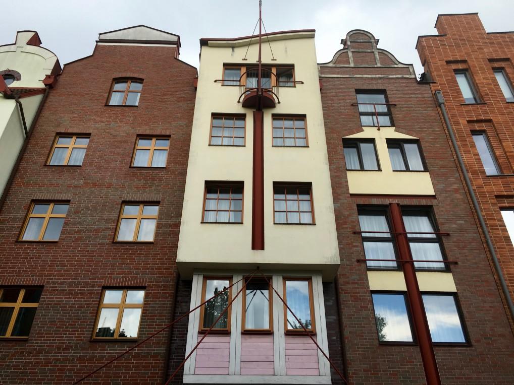 Hotel Hanza Gdansk sett fra utsiden.