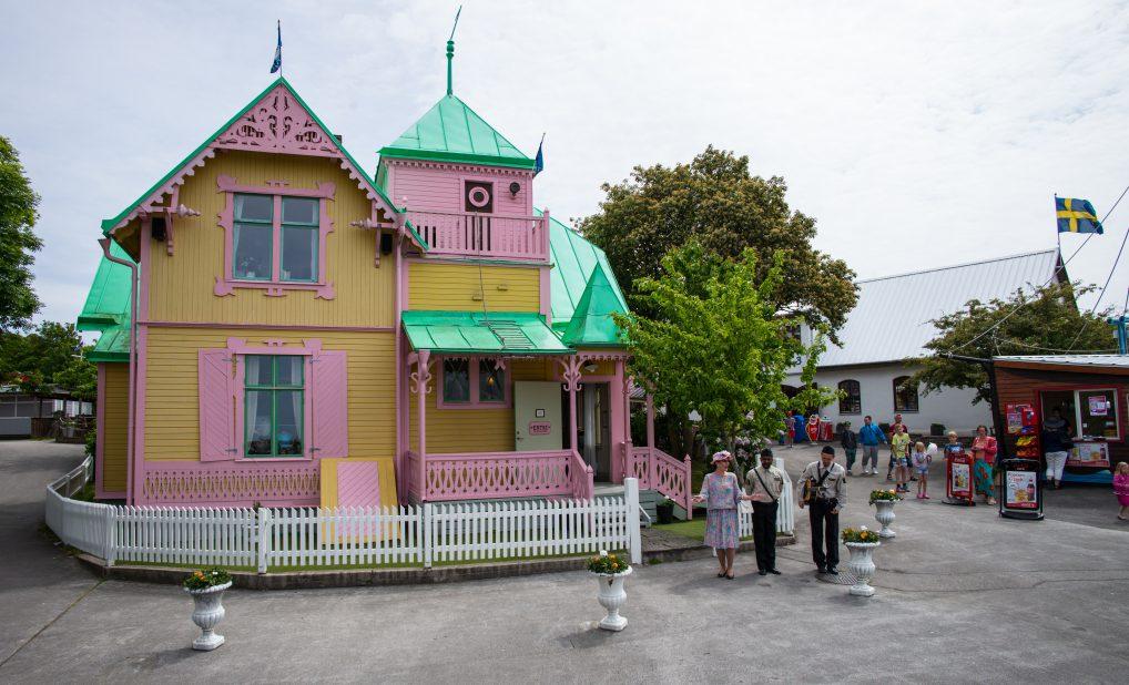 For å se det ekte Pippi-huset, må du ta turen til Gotland
