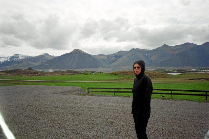 Vær på Island, fjell og tåke