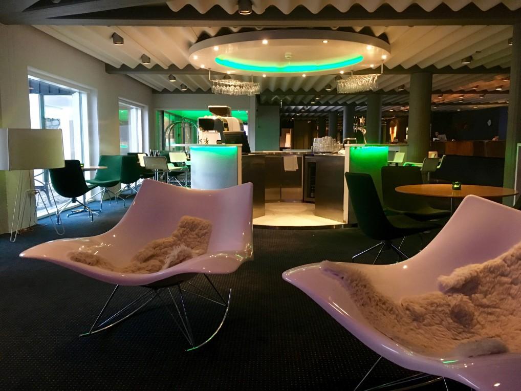 Lobbyen på Hotel Føroyar Torshavn