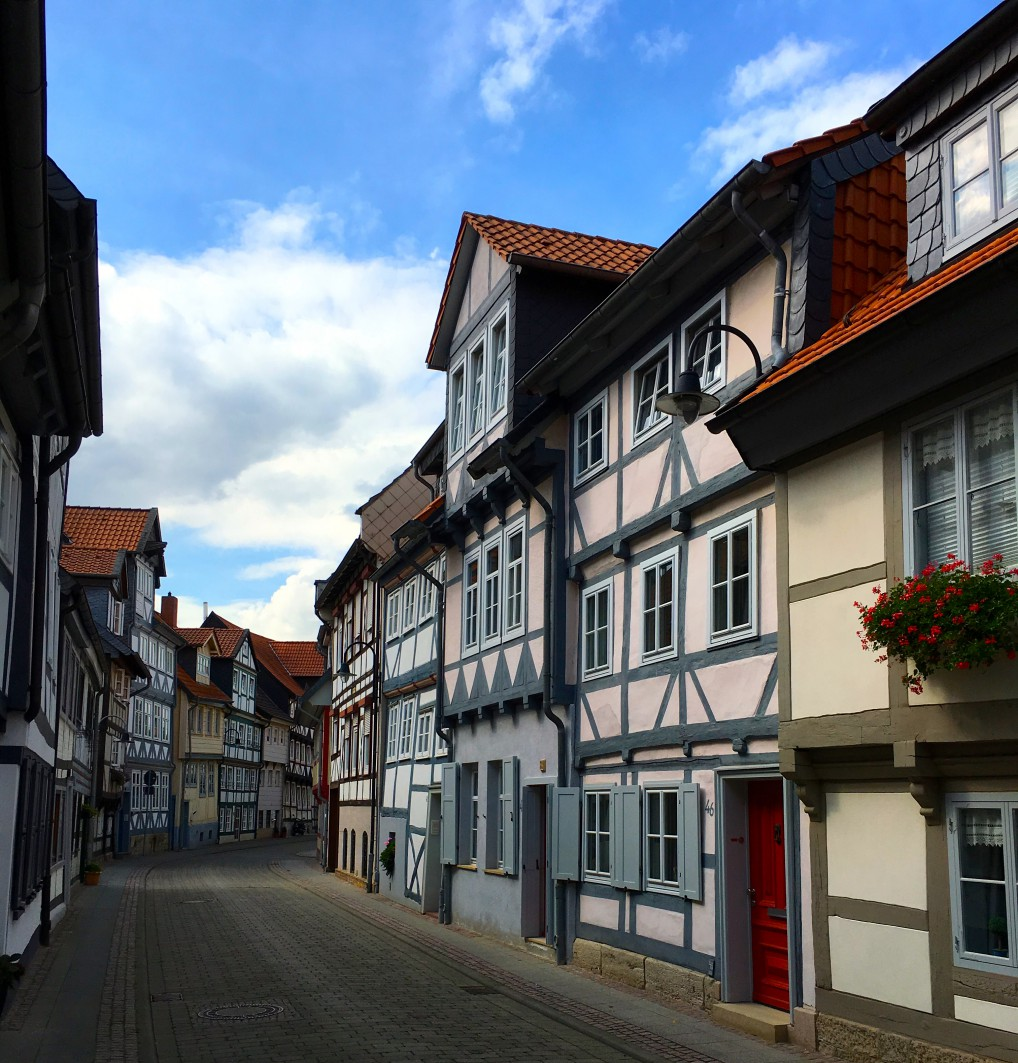 krumme gate i Wolfenbüttel