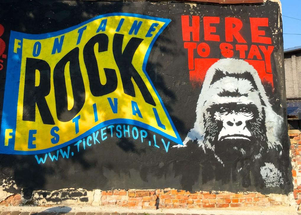 rock grafitti