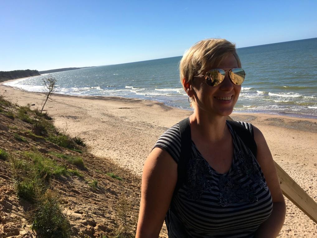 Strand i Latvia