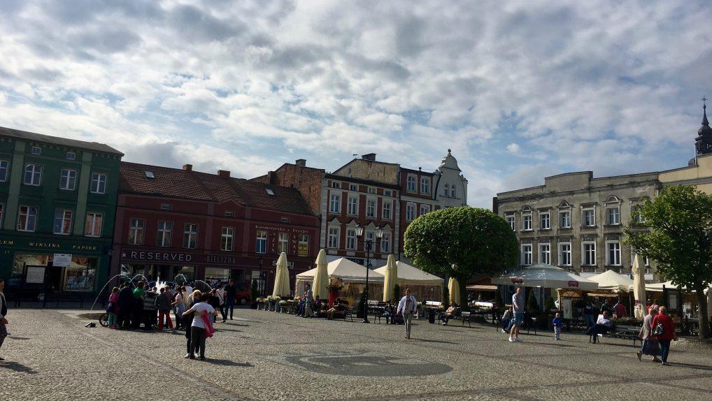 Stary Browar ligger rett ved byens fine torg