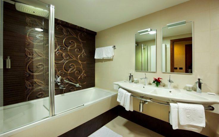 Bad på executive suite (foto fra hotellet)