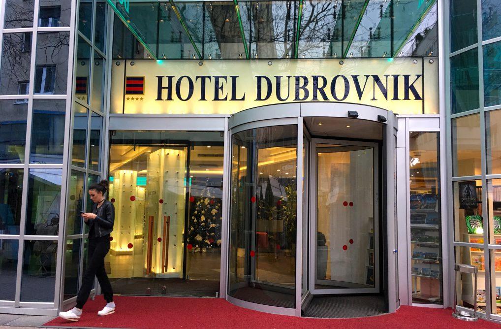Hotel Dubrovnik Zagreb har både en ny og gammel del.