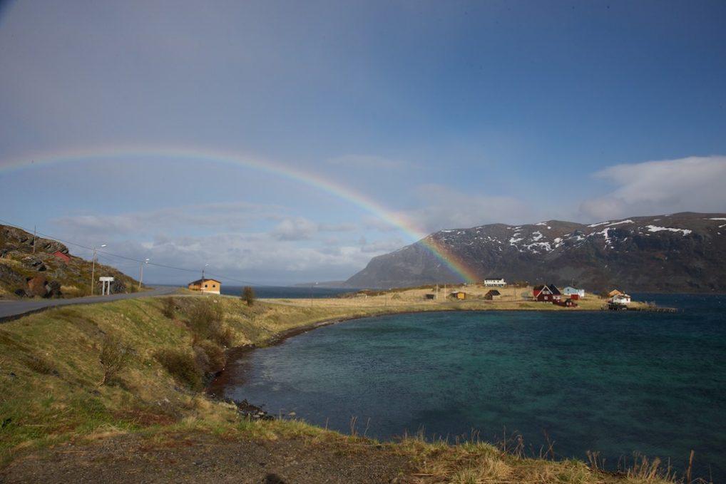 Olderfjord på vei til Nordkapp sist gang jeg var i Finnmark.