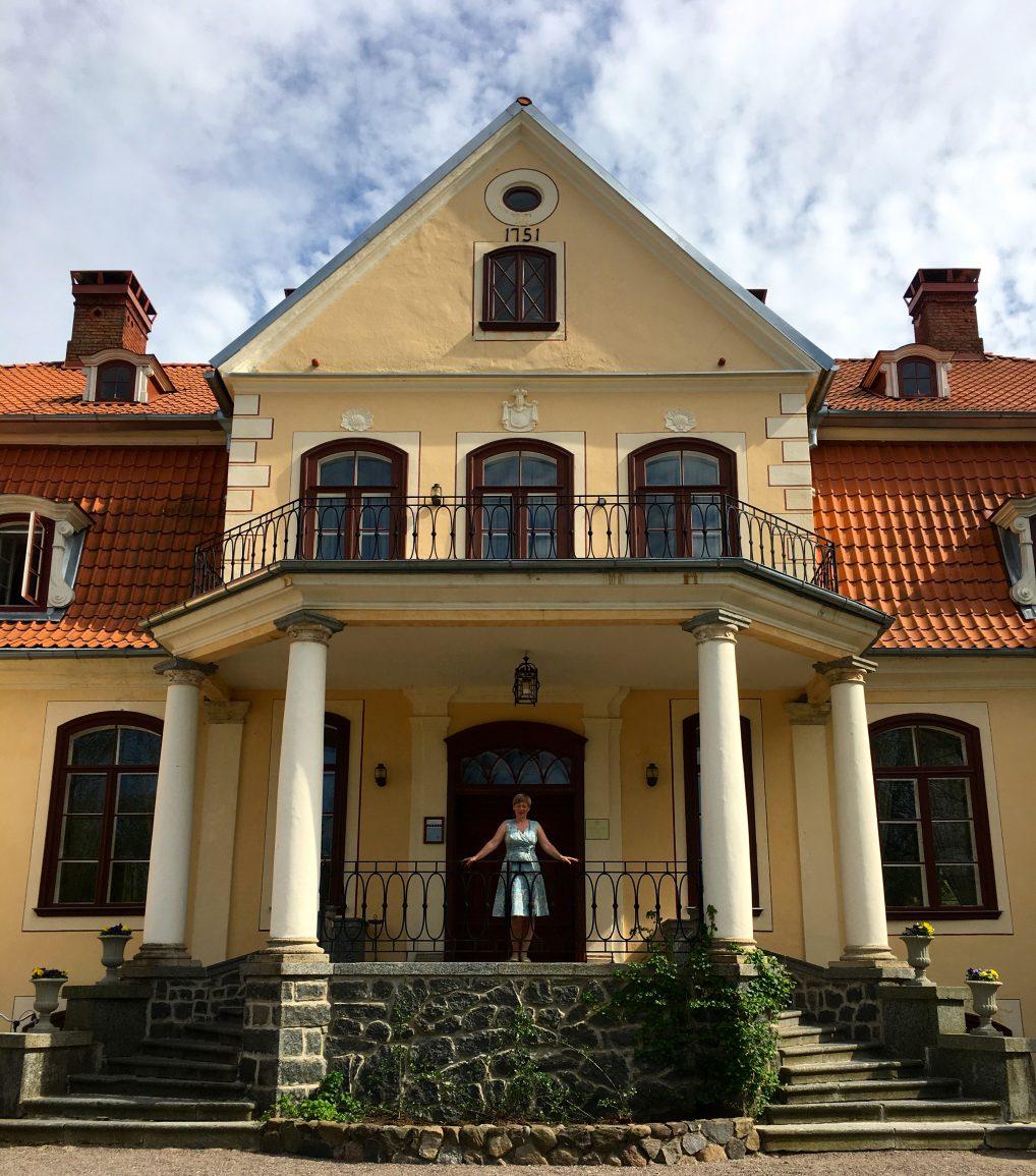 Staselige Liepupe Manor, hvor historien strekker seg tilbake til 1751.