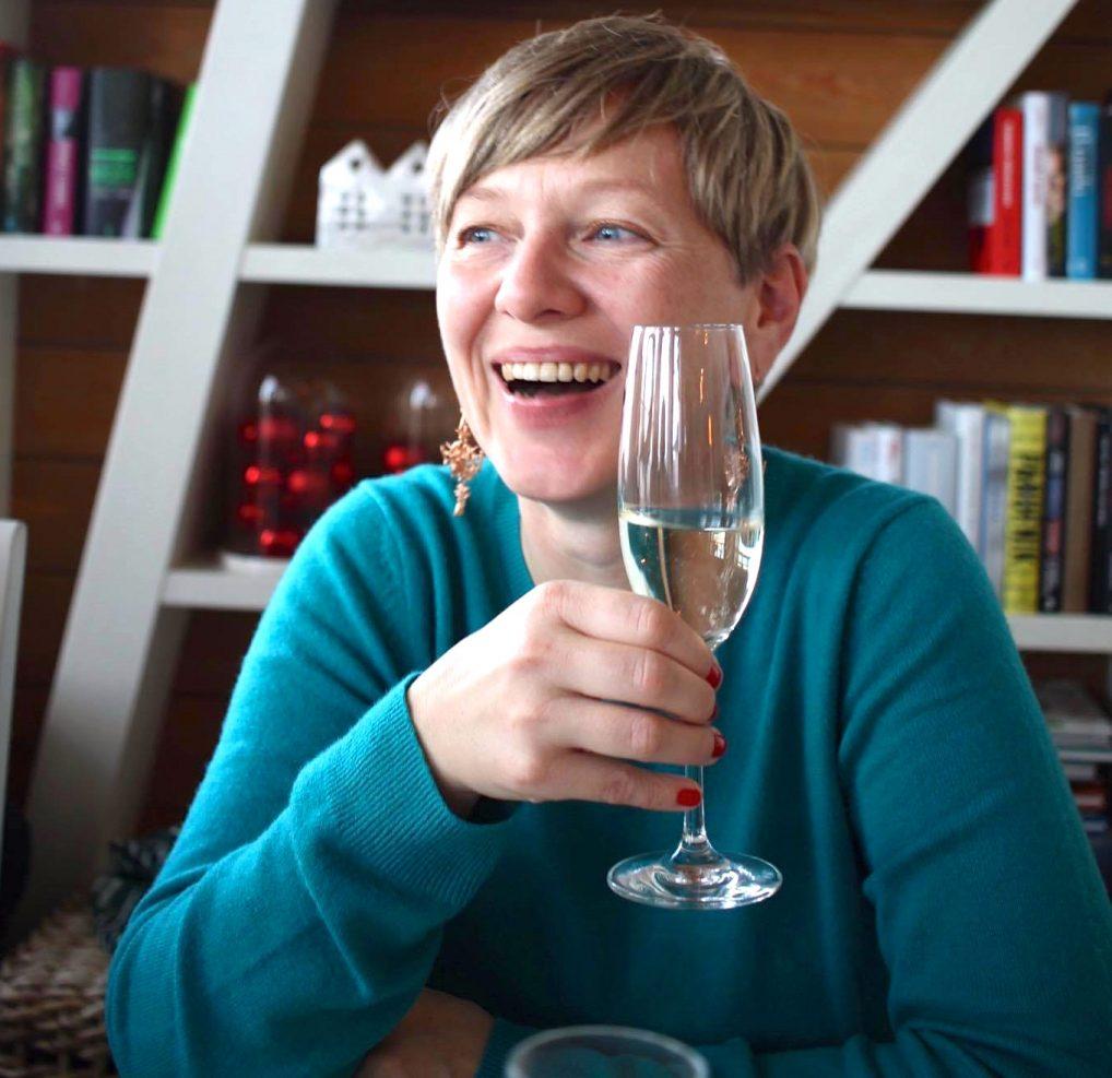Champagne får deg alltid i godt humør