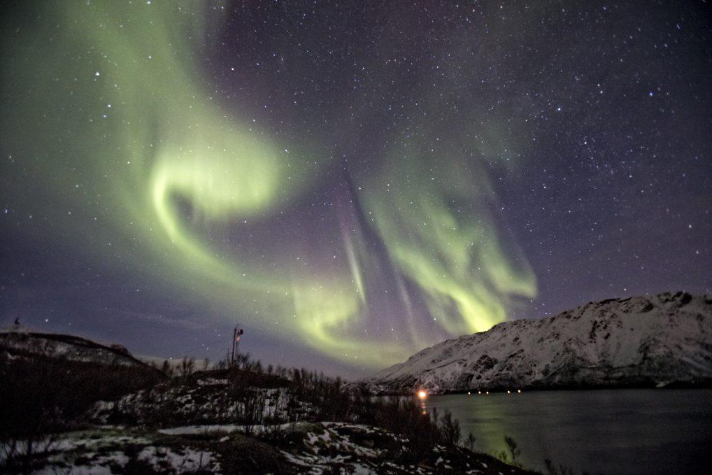 Isnestoften er en av mange fine plasser hvor det går an å se nordlys i Alta
