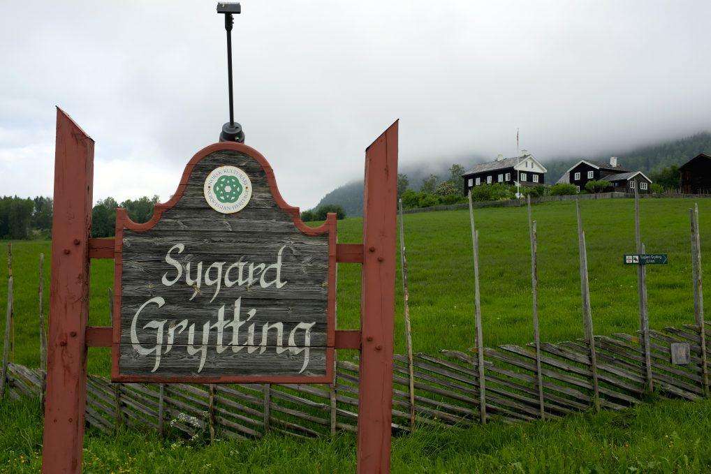 Sygard Grytting, historisk hotell i Gudbrandsdalen.