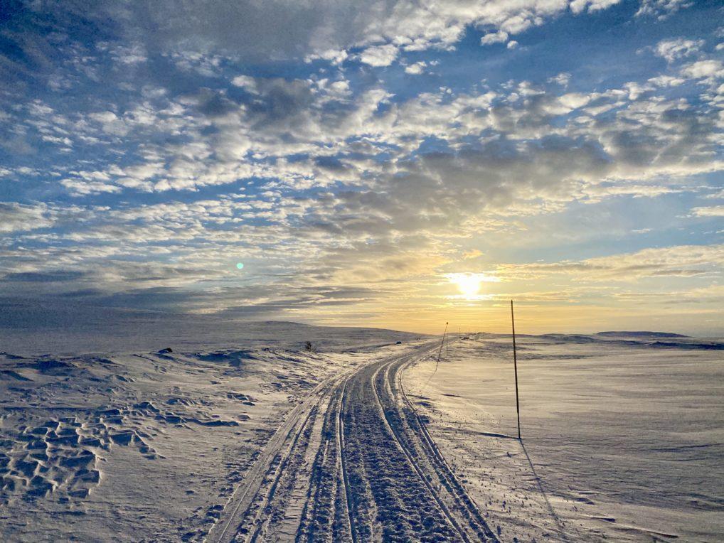 Finnmarksvidda i vinterdrakt